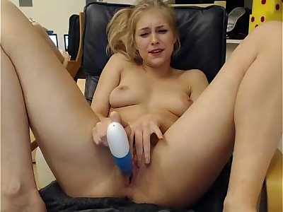 Girls4cock.com *** Sexy Teen Cums For You And Fucks Pussy on Camera