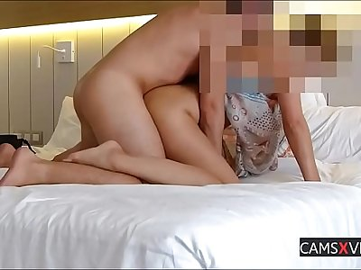 Amateur Sandrafeet Get Fucked And Footjob In Hotel