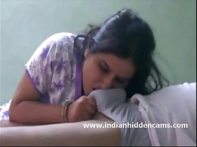 Indian Bhabhi Sucking Cock For Cumshot