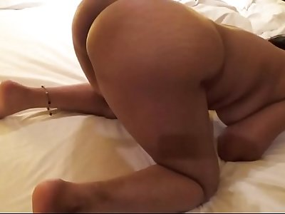 Desi Wife Blowjob & Doggy Fuck